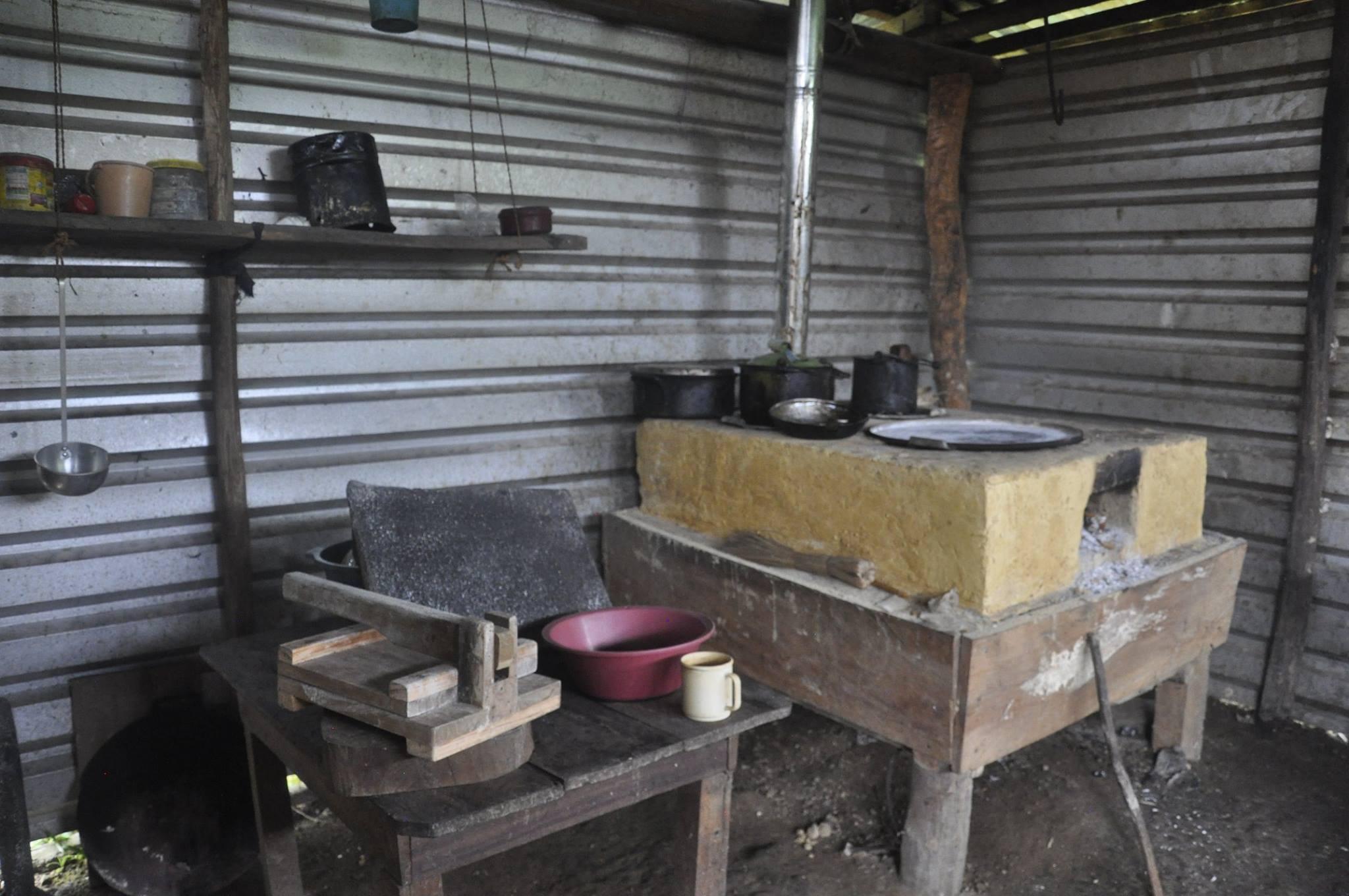 InfraRural clean cookstove
