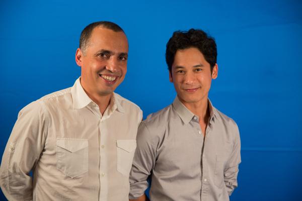 Prakti Designs co-founders: Mouhsine Serrar and Minh Cuong Le QuanPhoto by Danny Askew, Unreasonable Media