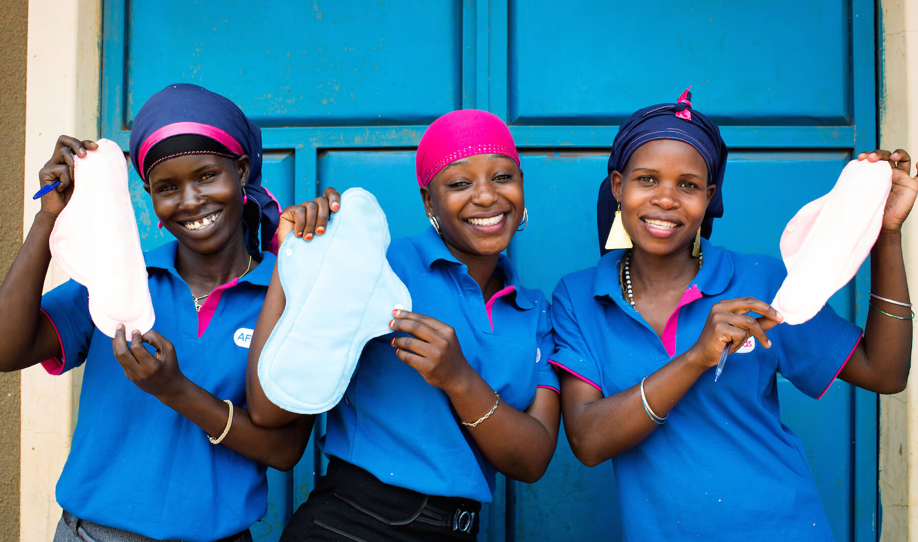 Reusable Sanitary Pads Help Keep East African Girls in School. Period.