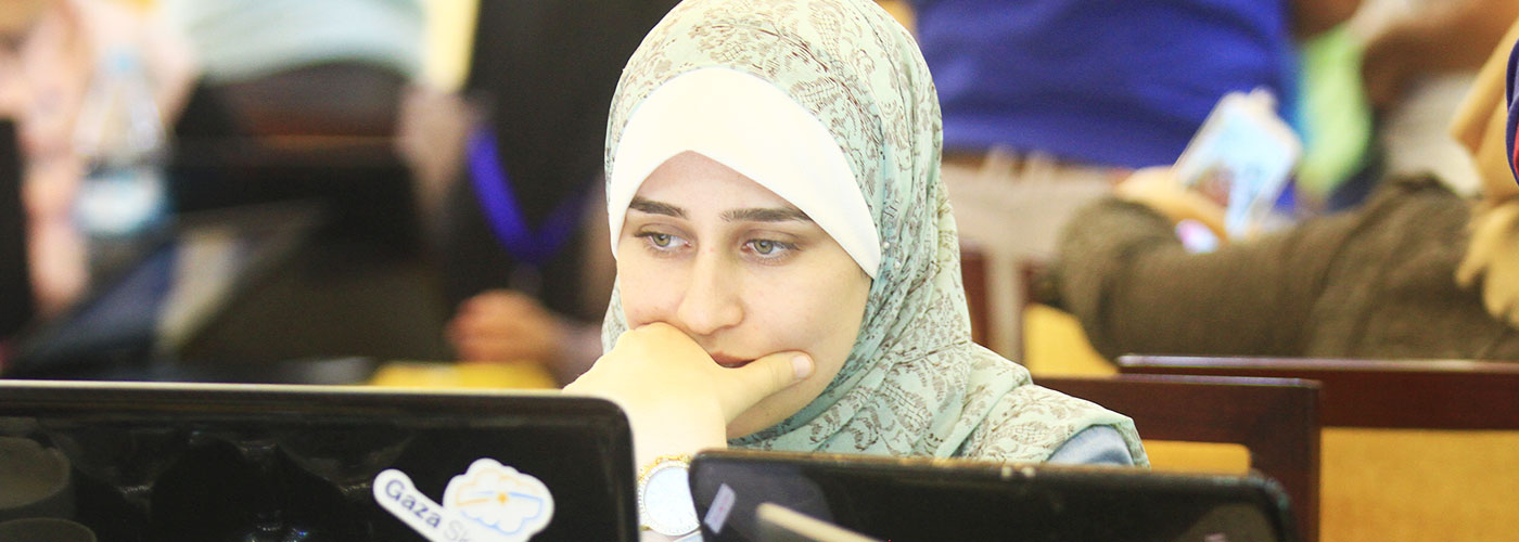 Launching a Coding Academy For Refugee Girls in Gaza